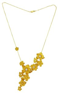 Carrera y Carrera Carrera y Carrera Emperatriz Maxi Women's Flower Necklace In 18k Gold.