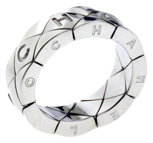 Chanel Chanel Matelasse flexible ring in 18k white gold size 5 new in box