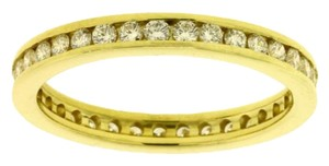 Other Channel set diamond eternity band in 14k yellow gold new VS-H size 7