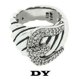David Yurman Diamond,sterling Silver,dy474582