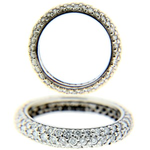 Other 14k Diamond White Gold Pavet15365