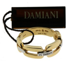 Damiani's Damiani Men's Diamond Ring In 18k Yellow Gold Size 9.25.