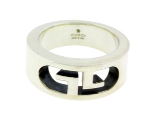 Gucci Gucci Women's or Men's Ring in .925 Silver New In Box Size 7.5