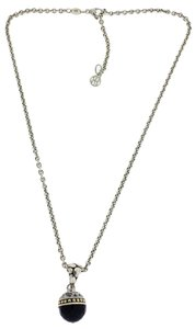 John Hardy John Hardy black onyx necklace in sterling silver