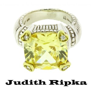 Judith Ripka 18k,diamond,jr592