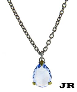 Judith Ripka Judith Ripka 18k Yellow gold and 925 Sterling Silver Necklace 17