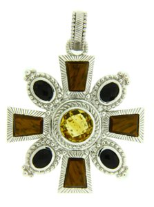Judith Ripka Citrine,tiger Eye,jr589