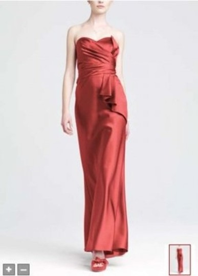 Preload https://item2.tradesy.com/images/david-s-bridal-coralsalmon-satin-84737-formal-bridesmaidmob-dress-size-8-m-178521-0-0.jpg?width=440&height=440