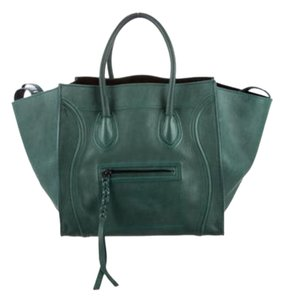 Céline Birkin Kelly 2.55 Tote in Emerald Green Celine Phantom Phoebe Philo Collection