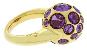 Pomellato 18k,amethyst,yellow Gold,pm-0052