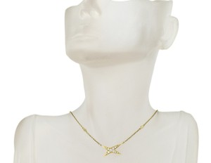Mauboussin Mauboussin diamond star necklace in 18k yellow gold.