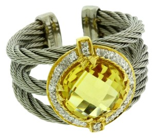 Charriol Philippe Charriol citrine & diamond ring in 18k yellow gold & Charriol