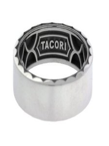 Tacori Tacori 105-7w Sculpted Crescent Wedding Band In 18k Size 10.25