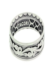 Tacori Tacori 104-7 Sculpted Crescent Men's Wedding Band Platinum Size 10.25