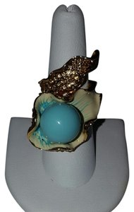 Other Turquoise Lily Flower Ring