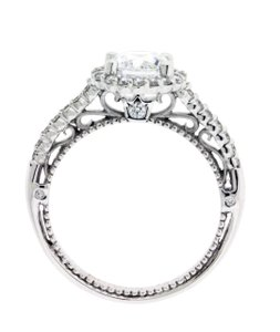 Verragio Verragio Venetian 5022 R Diamond Engagement Ring In 18k White Gold