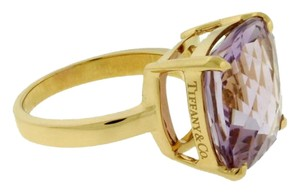 Tiffany & Co. TIFFANY & Co Sparklers amethyst ring in 18k rose gold size 6.25