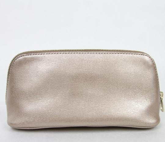 Gucci Women's Light Pink Leather Cosmetic Bag w/Interlocking G 338190 5711 Image 1