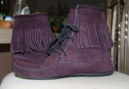 Minnetonka Purple Boots