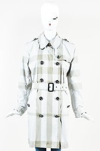 Burberry Brit Nova Check Trench Coat