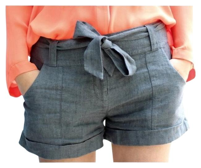 Item - Linen with Front Bow Tie Shorts Size 4 (S, 27)