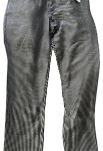 MICHAEL Michael Kors Capri/Cropped Pants Black checkered