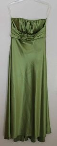 Jessica McClintock Lime Green Long Dress