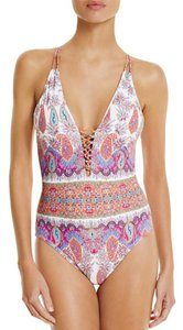 Nanette Lepore Nanette Lepore Gypsy Queen Goddess One Piece Swimsuit Size MD (Medium)