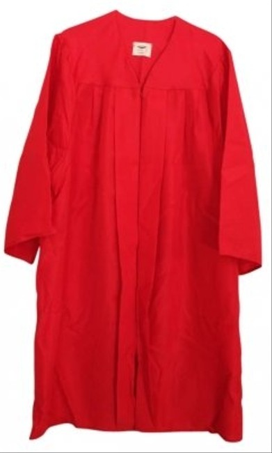 Preload https://item2.tradesy.com/images/jostens-gown-polyester-red-vest-178556-0-0.jpg?width=400&height=650