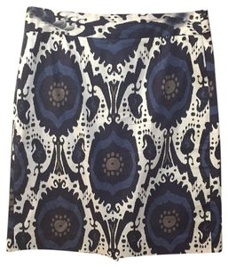 J.Crew Skirt Cream, navy