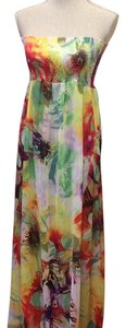 Multi-Coloured Maxi Dress by Roberto Cavalli