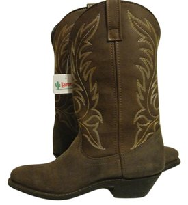 Laredo Western Wear Cowboy Cowgirl Brown Boots