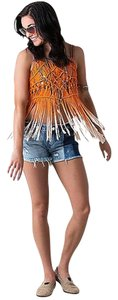 Miss Me Top Orange Ombre'