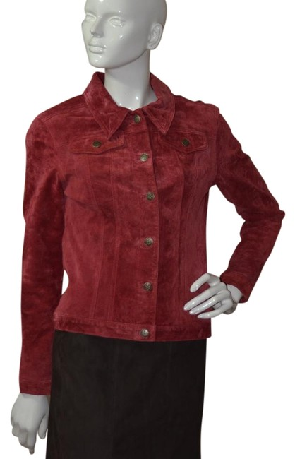 Item - Red Suede ~ Nwot ~ Jacket Size 6 (S)