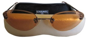 Chanel Authentic Vintage Chanel rose colored glasses!