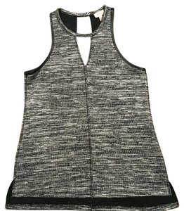Pixley Top Gray and Black