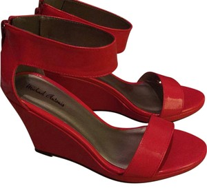 Michael Antonio Orange-red Wedges