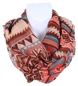 HOT FASHION AZTEC PRINT INFINITY SCARF