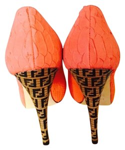 Fendi Coral Pumps