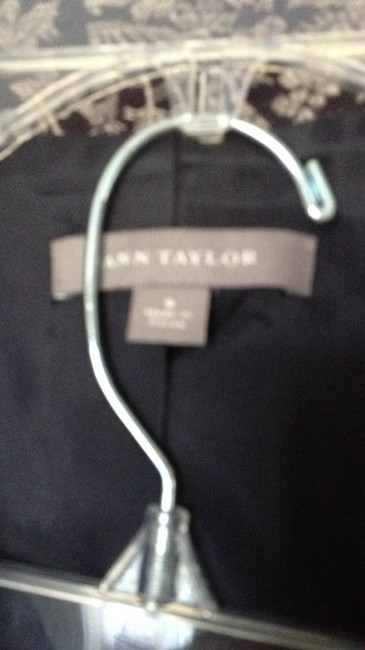 Ann Taylor Navy and cream two piece suit