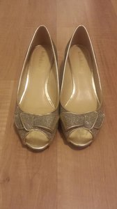 Kelly & Katie Metallic Wedding Shoes