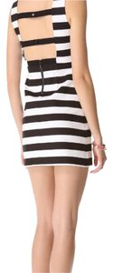 Alice + Olivia short dress Black and white on Tradesy