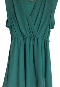 Forever 21 short dress Teal blue on Tradesy