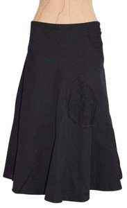 Anthropologie Odille Skirt BLACK