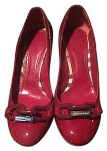 Burberry Designer Heels RED Pumps