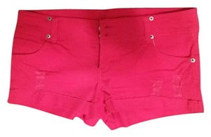 Wet Seal Bright Casual Shorts Red