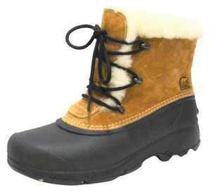 Sorel Fleece Lined Winter Tan Boots