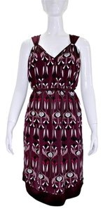 To the Max Polyester Print Dress