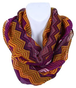 Other NEW STYLE HOT FASHION CHEVRON PRINT INFINITY SCARF(Pur)