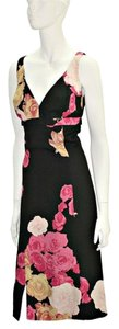 Tracy Reese Silk Nylon Floral Dress